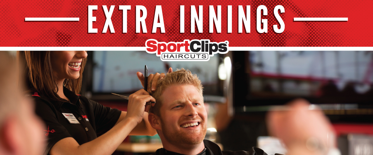 The Sport Clips Haircuts of Encino Town Center Extra Innings Offerings